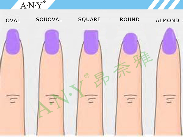 Drawing Lines On Nails : Any new acrylic nails dual system forms extension