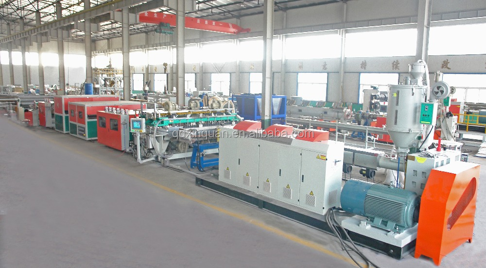 High quality pp plastic plallet machine, pp plallet making line