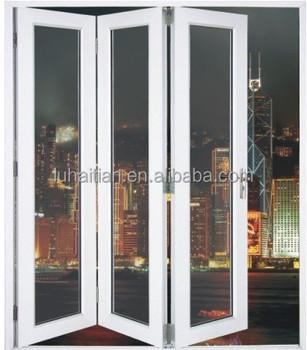 Metal Glass Double Doors