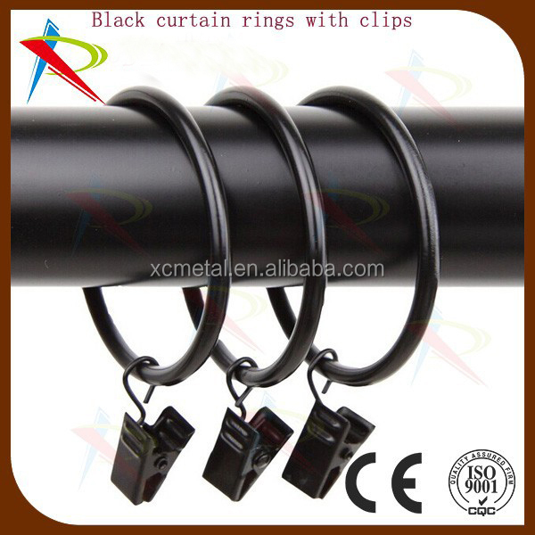 Curtains Ideas 2 inch curtain rings with clips : Shiny copper 2 inch curtain rings with small curtain ring clips ...