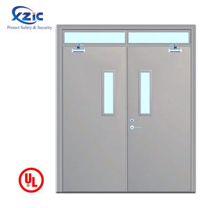 Factory Direct Supply commercial fire safety doors prices metal fire  resistant doors manufacturers
