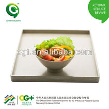 Healthy and safe plant fiber Wholesale High Quality Breakfast Tray