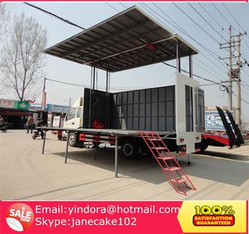 China Hydraulic Cylinder Mobile Stage Truck For Roadshow,Led Mobile Stage  Truck For Sale,Stage Truck For Sale - Buy Mobile Stage Truck For