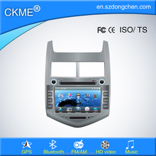 "8"" car audio system cd/dvd PM3/MP4 player AM/FM radio GPS navigation bluetooth for Aveo"