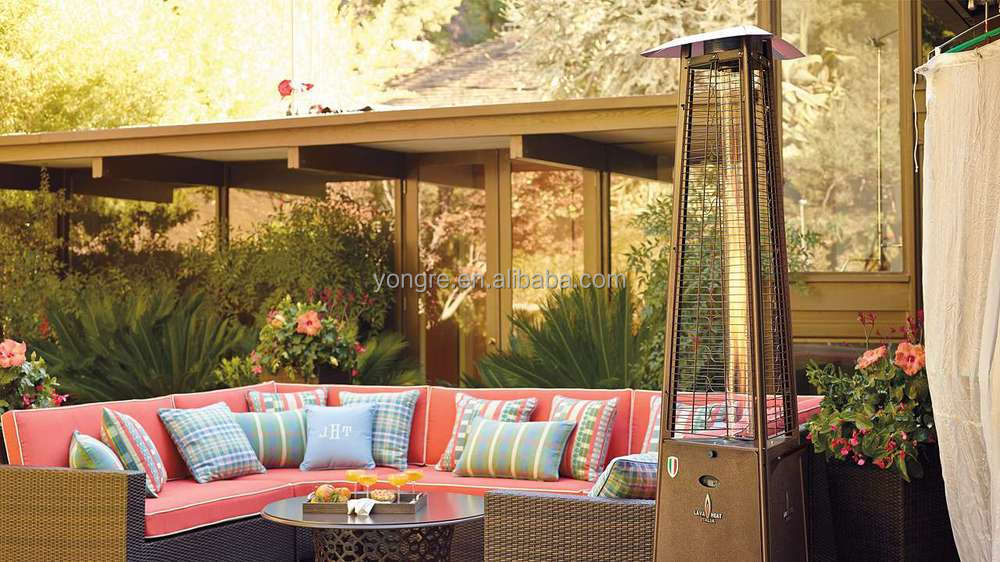 2015 Restaurant Decorative Quartz Tube Flame Gas Patio Heater | Gas Outdoor  Heater