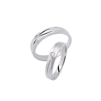simple and romantic couple ringswedding ring set - Simple Wedding Ring Sets