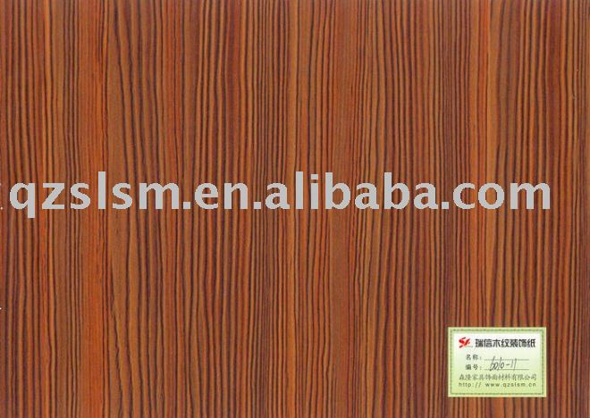 6010-11 Self Adhesive Paper For Furniture Finish Foil