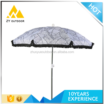 Standard Size Rain Proof Promotional Special Beach Umbrella For Us Market