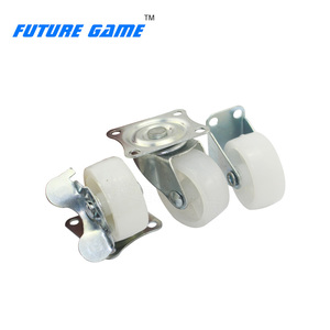 40mm metal caster wheel with/without brake for doll machine for sale