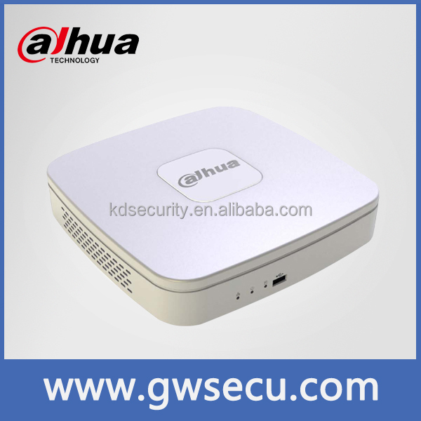 dahua NVR3104-P easy to connect dahua ip camera wholesale 4/8/16 Channel Smart Mini 1U 4PoE Network Video Recorder