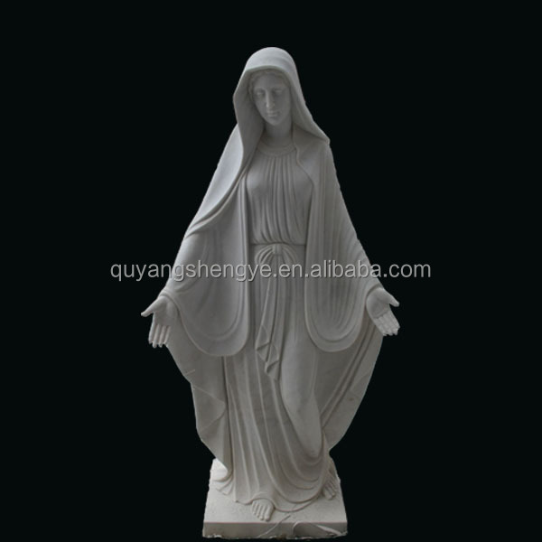 Marble Carved Virgin Mary Garden Statues   Buy Virgin Mary Statues,Green  Marble,Gardenstatues Product On Alibaba.com