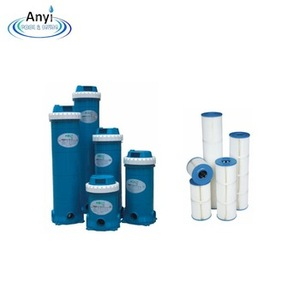 Professional china supplier swimming pool deep filter/pool spa water filter cartridge