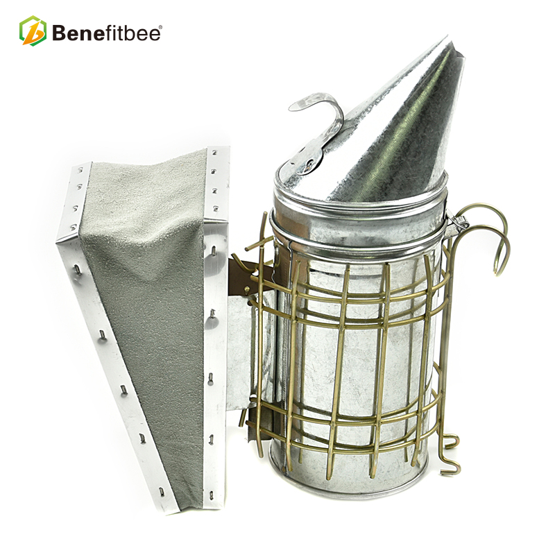 Small Size Beekeeping Tools Manual Galvanized Bee Smoker For Bee Keeping Equipment