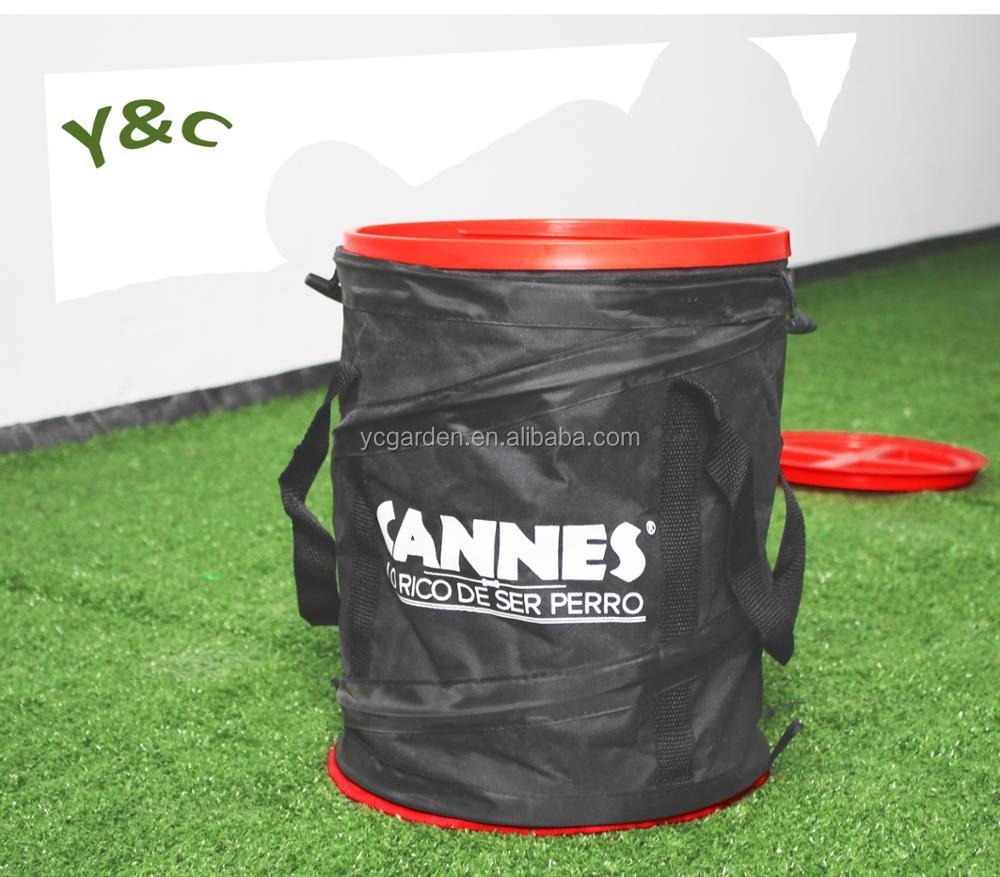 Y&C GARDEN nylon collapsible pet food bag with FDA approval