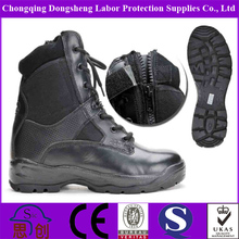 export black leather special haix boot