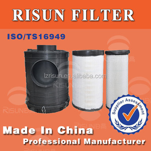 1900M3/H air filters original DONGFENG TRUCK parts plastic housing filter assy, truck filtration