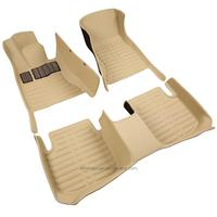 Special cars duster 5d car foot pad mat with brv