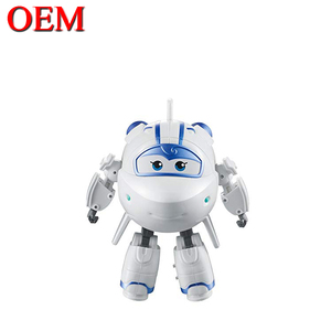 Customized Plastic Cartoon Action Super Wing Toy