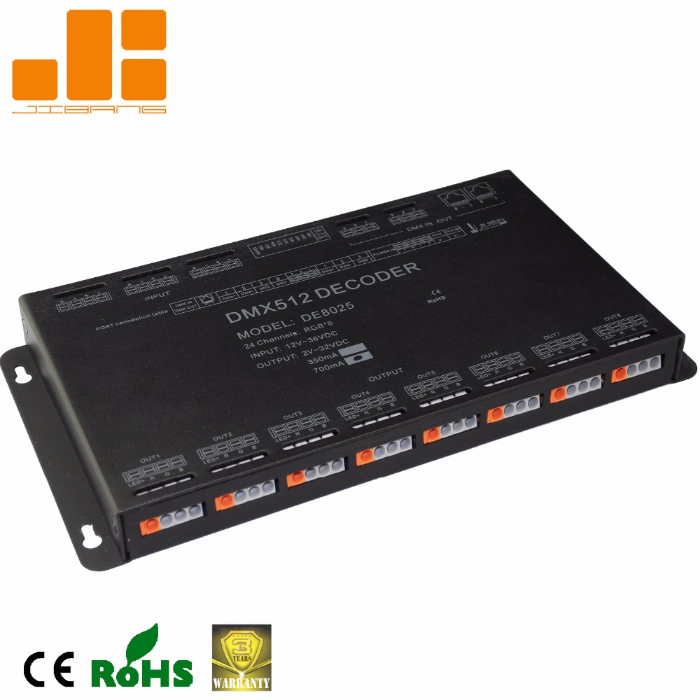 24 Ch Cc Dmx Decoder 350ma/700ma De8025 - Buy 24 Channels Dmx,700ma  Dmx,Constant Current Dmx Decoder Product on Alibaba com