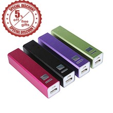 2600mAh Power Bank Charger External Battery Pack Backup Charger Micro USB Cell Phone Portable charger