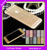 JESOY Full Body Wrap Decal Glitter Sticker Skin Cell Phone Cases Cover For iPhone 5 5S 5C 6 6S Plus