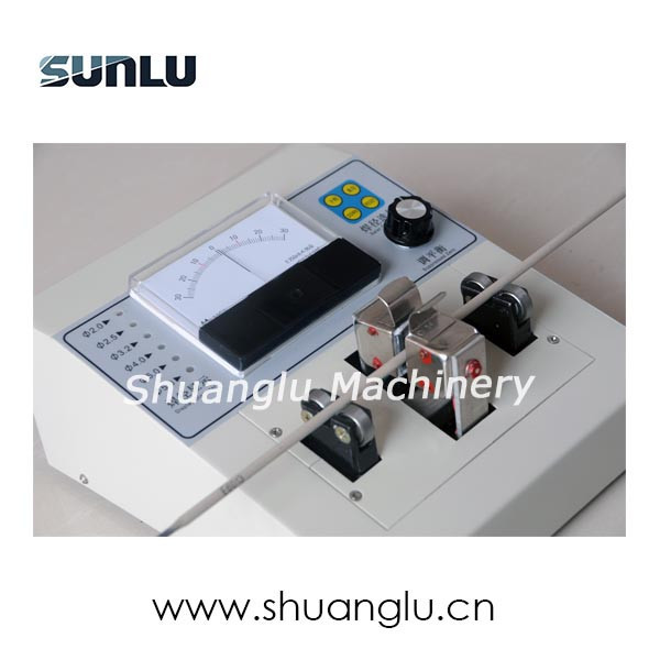 Electrode eccentric measuring instrument/physics measuring instruments