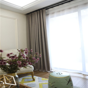 Hot selling 100% polyester organza curtain jacquard fabric for window fabric curtain made in China