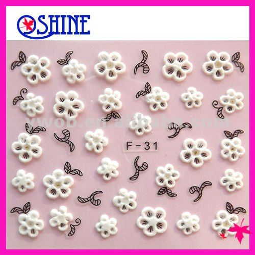 2012/popular/fashion/hot sale/competitive price/deocration/amazing/beautiful/DIY/nail sticker