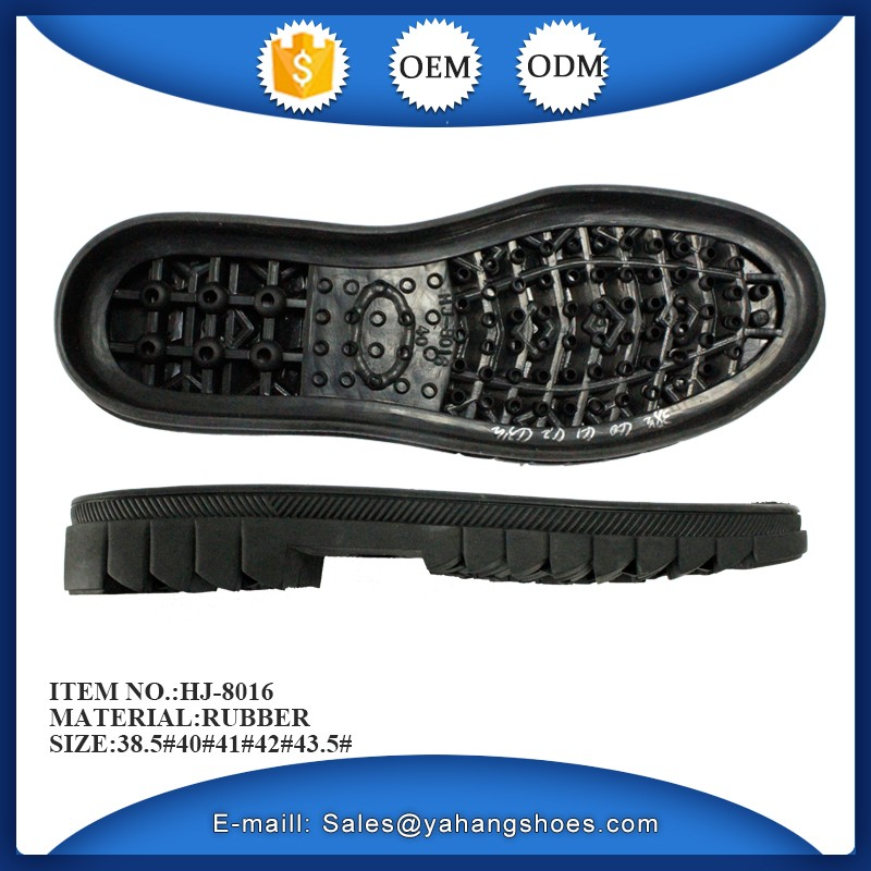 male boots leather shoes rubber sole for sale