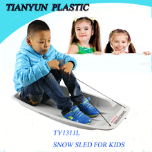 Durable plastic snow ski scooter for kids outerdoor sports