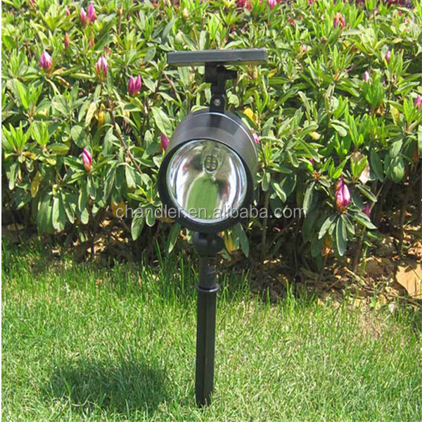 Wholesale Outdoor LED Garden Solar Powered Flag Pole Light Solar LED Spot Light