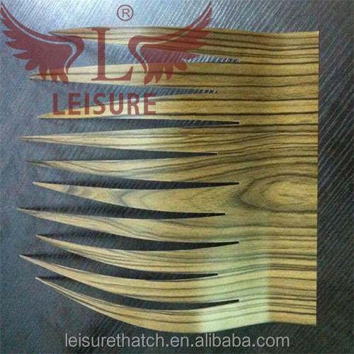 Factory Recyclable Customized Color Coated Aluminum Water proof reed thatch