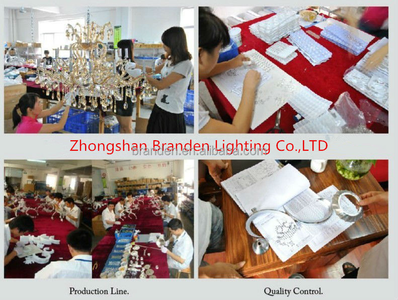Customized best selling modern led baccarat crystal ceiling lamp