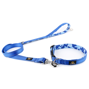 China pet accessories supplier camo dog leashes and colalrs