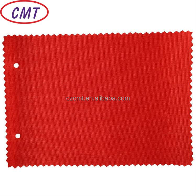 CMT hot sell factory price 600D 100% polyester oxford fabric PU coated