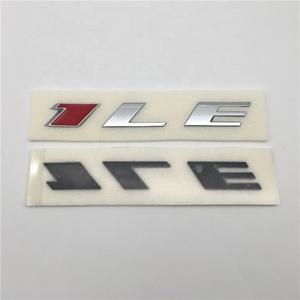 Custom ABS Chrome Color Auto Letter Sticker Car Emblem Badge