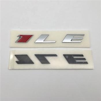 Custom Abs Chrome Color Auto Letter Sticker Car Emblem Badge - Buy Car Logo  Emblem,Car Emblem Sticker For Chevy,Chrome Car Badge Product on