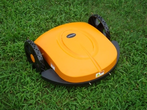 The robot mower is the cheapest and the most advanced ,stable in the world/electric yellow intelligence