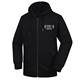 mens hooded pullover 100% cotton plain black sweatshirt fleece zip hoodie blank men's hoodies for sweatshirts men hoody