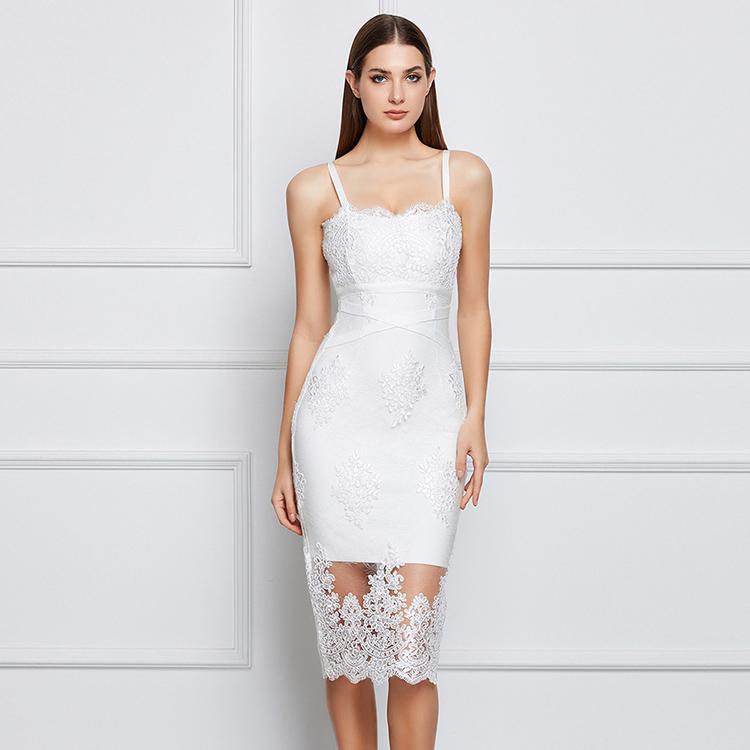sale retailer ca2e1 5647a Großhandel weißes durchsichtiges sommerkleid Kaufen Sie die ...