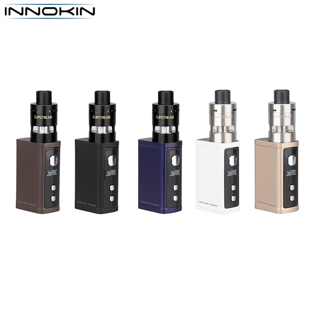 Innokin new cool fire pebble vape, mini box mod e cigarette china