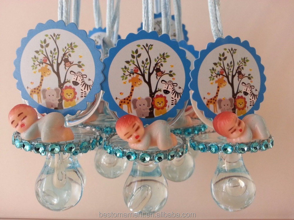 Pacifier Necklaces Baby Shower For It's a Boy Game