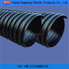 Baijiang popular pehd tube corrugated pipe punch for drainage