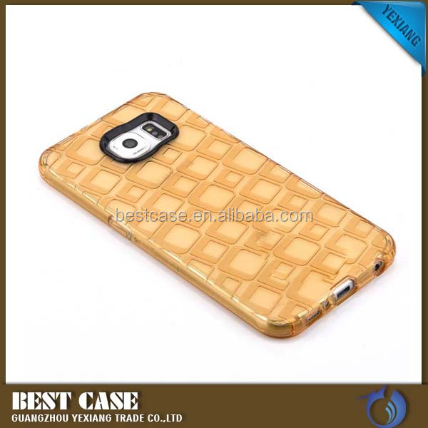 High quality picasso design square tpu phone case for samsung galaxy on7 with camera protect
