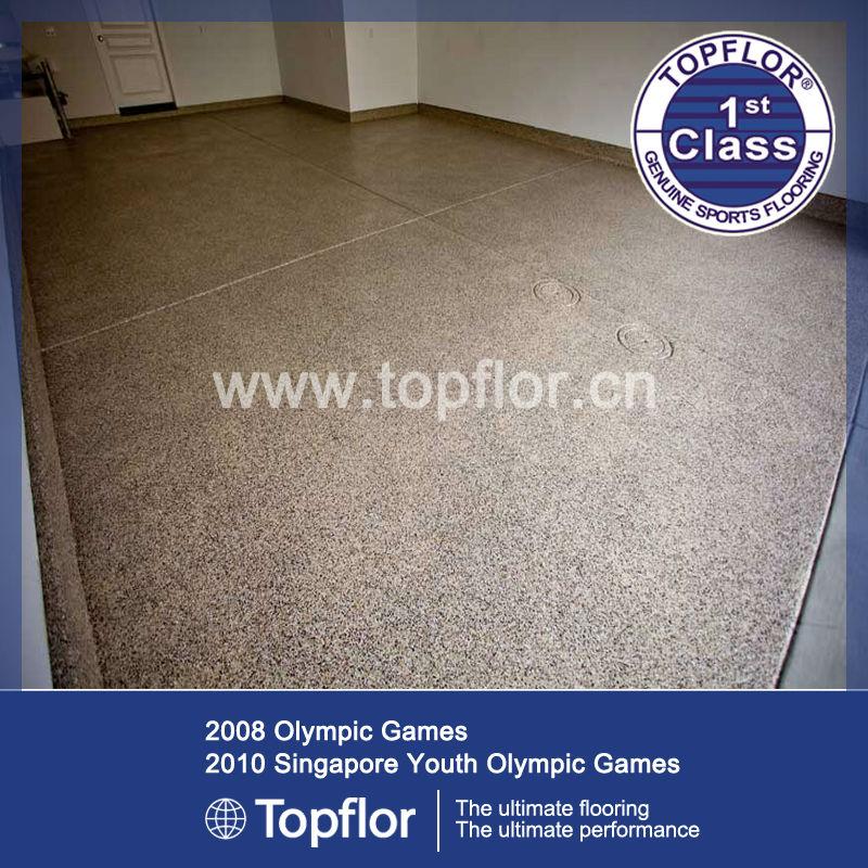 Smart Glitter Sparkle Vinyl Safety Flooring Roll With Beige Color ...
