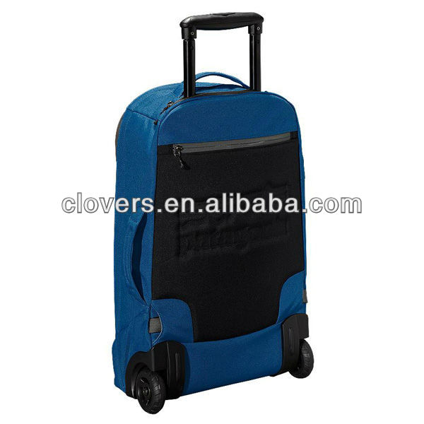Purple plain Laptop Trolley Travel Bags in low price