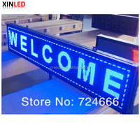 High brightness text scrolling message store door led sign led display
