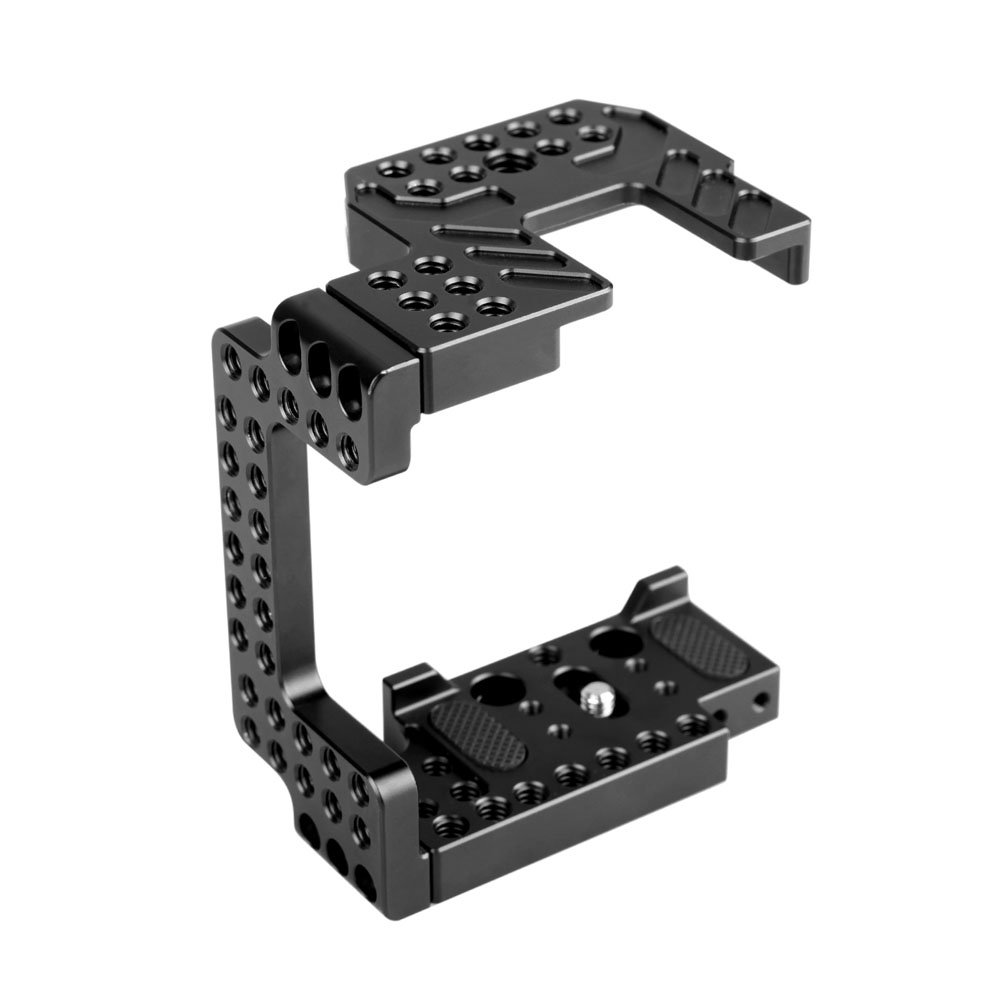 "SmallRig DSLR Camera Cage with 1/4"" Holes for Sony A7II/ A7RII/ A7SII to Mount Top Handle Microphone, Monitor,Sound Recorders, Follow Focus, Etc - 1673"