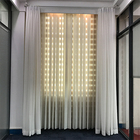 China Supplier Electrical Motor 100% Polyester Blackout Fabric Office Vertical Blind And Curtain For Hotel Projet