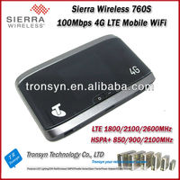 Original Unlock LTE 100Mbps Sierra Wireless Aircard 760S 4G Sim Card Mobile WiFi Router And 4G Router